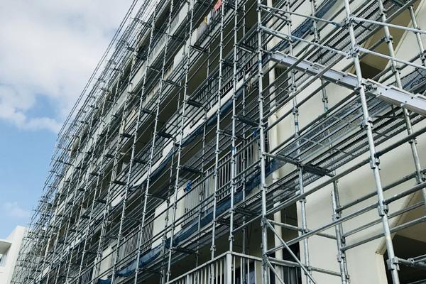クサビ式足場工事
