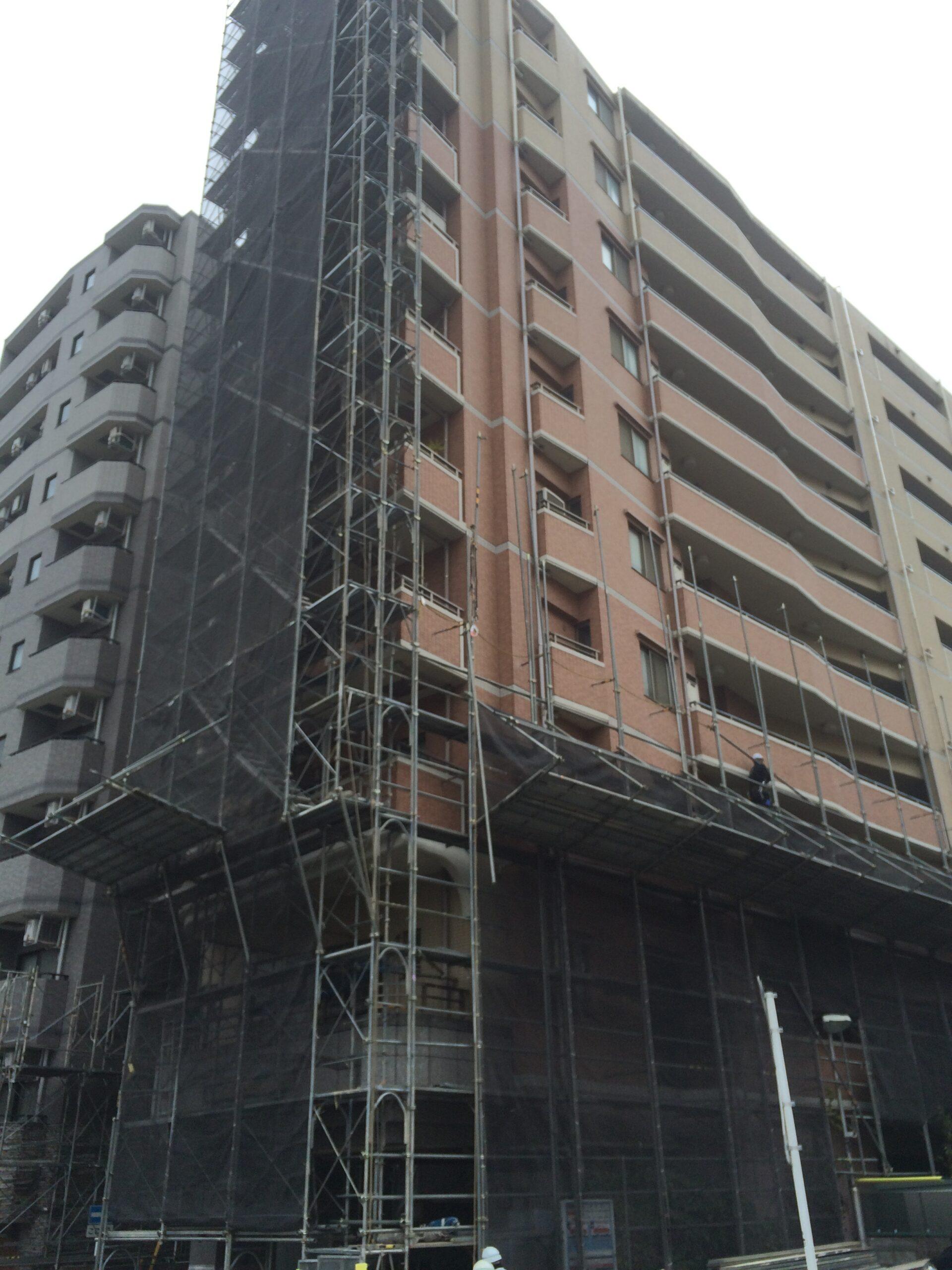 横浜市西区 大規模修繕工事