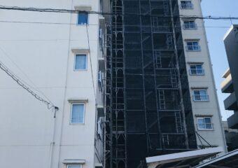 東京都世田谷区 鉄骨階段改修工事