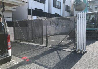 東京都新宿区 ゲート設置